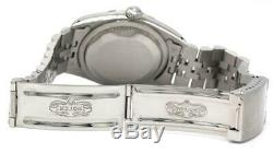 1990 Authentic Rolex Datejust Style #16234 Stainless Steel 36mm