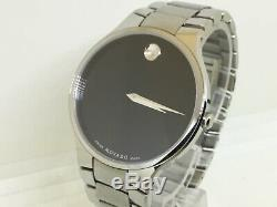 $995 Movado 20.1.14.1092 Museum Unisex Watch 38mm Stainless Steel New Style