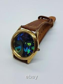 Armitron Bugs Bunny Psychedelic Rare Watch Holgrafic Style Vintage 90s Watches