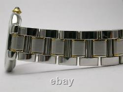 Cartier 21 Must Watch Stainless Steel/gold Ladies Watch Style #1340