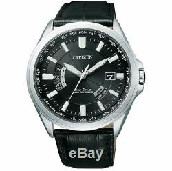 Citizen Eco-Drive CB0011-18E Radio Clock Line Receive Style From Japan