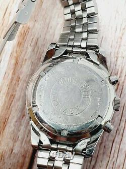 Citizen Promaster Chronograph WR100 Military Style Wristwatch 0560-S72340 Rare