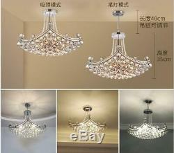 Creative Ship Style Chandelier 6-Light Crystal Pendant Lamp Home Ceiling Fixture