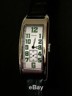 Curvex 1920s Period Style art decor oblong tanker watch Ltd Edition 6 only