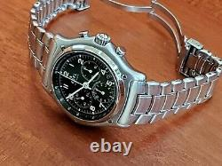 Ebel 1911 Chronograph-in House Chronometer Movement-pilot Style Dial