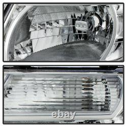 For 08-12 Nissan Pathfinder Factory Style Replacement Headligh Left+Right Chrome