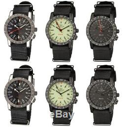 Glycine Men's 3887 Base 22 GMT/Purist Automatic 42mm Choice of Color/Style