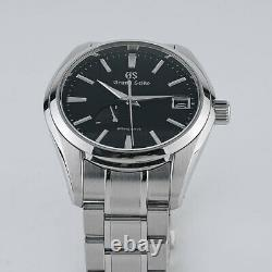 Grand Seiko Spring Drive 41mm Black Dial in Mint Condition Style # SBGA203