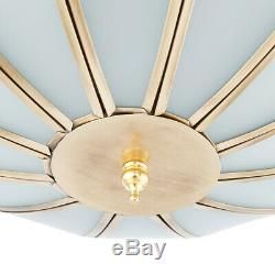 LED Ceiling Fan Light Chandelier Lamp 42 Retractable Blades New Style Remote