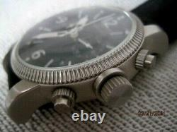 Military Style BURBERRY Swiss Made Gents Designer Chronograph