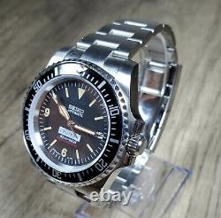 New Custom Vintage Style Mod Build Watch 40mm Submariner Sword Hands DATE NH35