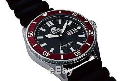 ORIENT SPORTS Diver Style RN-AA0008B Black Men's Watch 2018 New in Box