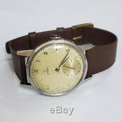 Omega military style 40s watch beautiful vintage watch Ref 249-516 sub dial