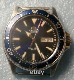 Orient Kamasu 200 Meter Automatic Diver Style Sapphire Crystal Blue Dial Men's