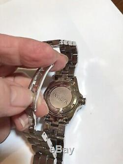 Preowned Invicta Ladies Diamond Stainless Steel Watch Style 13726