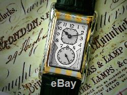 Prince Brancard Doctors Tiger Stripe 1930s Style Silver Dial Grey Infill 05