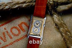 Prince Brancard Doctors Tiger Stripe Watch Light Parchment Dial 1930s Style 2