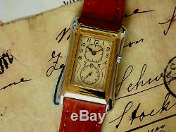 Prince Brancard Doctors Tiger Stripe Watch Parchment Dial 1930s Style 725A