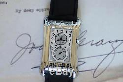 Prince Brancard Doctors Tiger Stripe Watch Silver Grey Dial 1930s Style 728C