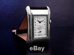 Prince Brancard Doctors Watch Duo Silver Baton & Number Dial 1930s Style 718b