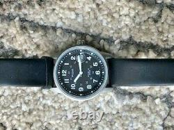 Retro Military Style Pulsar Seiko YT57-X022 Kinetic 100M Gents 12/24Hr Day Watch