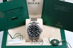 Rolex Submariner No Date July 2020 New Style Card/Box/Papers 114060