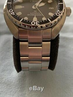 Seiko Mini Turtle SRPC35J1 with Sapphire Crystal & Oyster Style Strapcode Bracelet