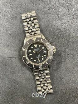 Serviced 32mm Ladies Tag Heuer 1000 980.015 Submariner 756 844 Style Dive Watch
