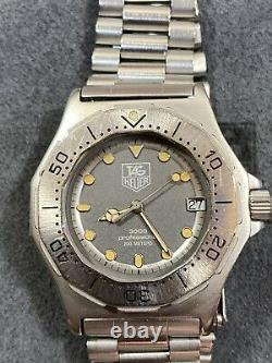 Serviced LADIES Tag Heuer 3000 Series 932.213 Submariner Style Dive Watch