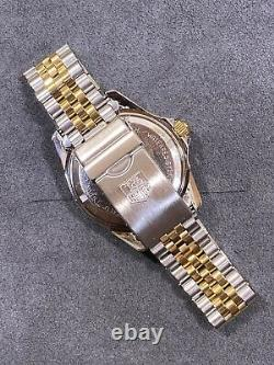 Serviced TAG HEUER 1000 980.020 Two Tone Gold Submariner Style Dive Watch
