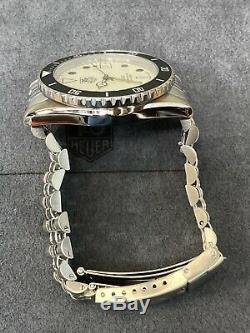 Serviced Vintage TAG HEUER 1000 980.113 Lume Dial Submariner Style Dive Watch