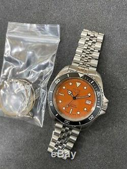 Serviced Vintage TAG HEUER 1000 Pro 980.006 Jumbo Monnin Style Diver Watch