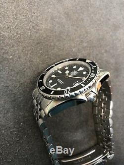 Serviced! Vintage TAG HEUER 1000 Pro 980.013 Submariner Style Diver Watch