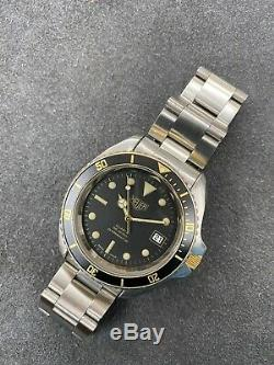 Serviced Vintage TAG HEUER 1000 Pro 980.021 Jumbo Monnin Style Diver Watch