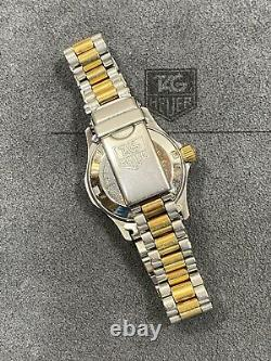 Serviced Vintage Tag Heuer 974.008 2000 Two Tone Submariner Style Dive Watch