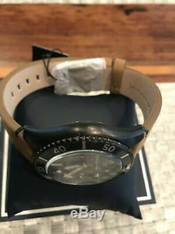 Spinnaker Wreck Auto Vintage Style Sports Watch Distressed IP Case #SP-5051-03