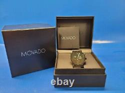 Swiss Men's MOVADO SAPPHIRE SYNERGY Rubber Strap Watch Style# 31-1-36-1141