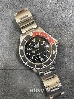 TAG HEUER 1000 980.013 Black Coke 980.043 Submariner Style Dive Watch
