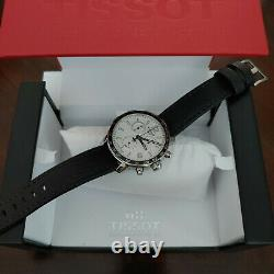 Tissot Quickster Chronograph with Canvas Style, Leather, Nato Straps