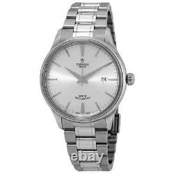 Tudor Style Automatic Silver Dial 41 mm Men's Watch 12700-0001