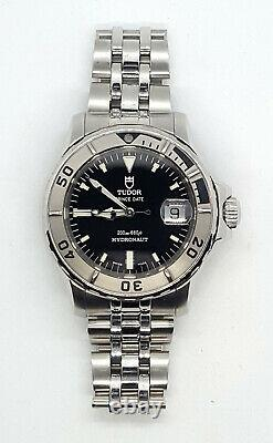 Tudor by Rolex Prince Date Hydronaut 89190P Submariner Style Diver's Watch