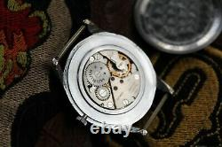 Vintage Classic Style MARVIN Cal 560 Mechanical Watch Swiss NATO Strap SERVICED