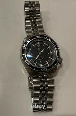 Vintage Style Seiko SKX007 mod CT Sapphire Double Dome Crystal NH36 watch
