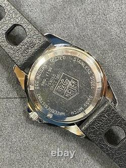 Vintage TAG HEUER 1000 980.113 Lume Submariner Style Night Diver Watch