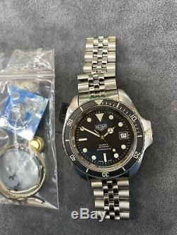 Vintage TAG HEUER 1000 Pro 980.006 Jumbo Monnin Style Diver Watch
