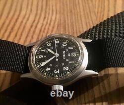 Vintage clean 1990s Benrus military style watch reissue of MIL-W-46374 Vietnam