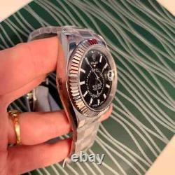 Watches man style silver rolex